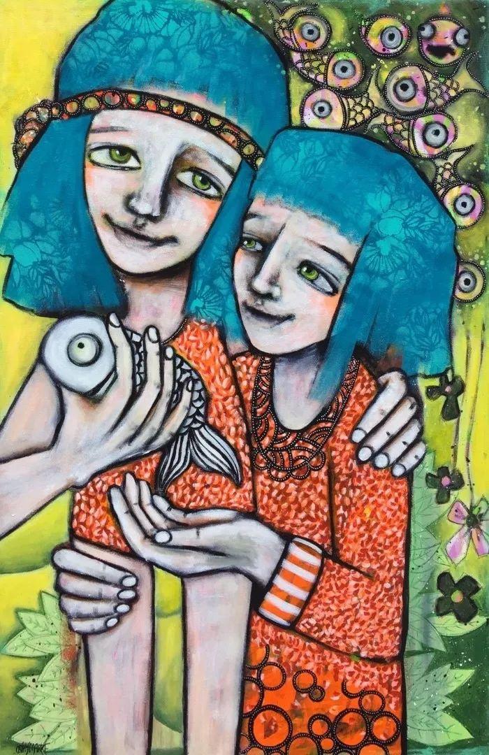 法国女艺术家Cathy Marre作品选插图25