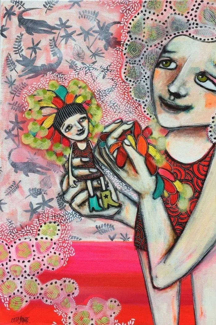 法国女艺术家Cathy Marre作品选插图27