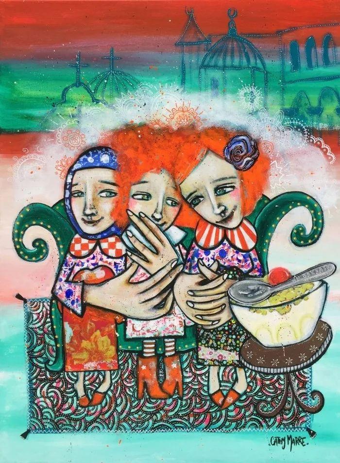 法国女艺术家Cathy Marre作品选插图31
