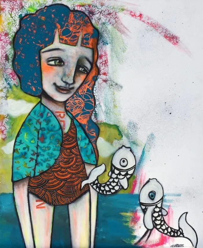 法国女艺术家Cathy Marre作品选插图33