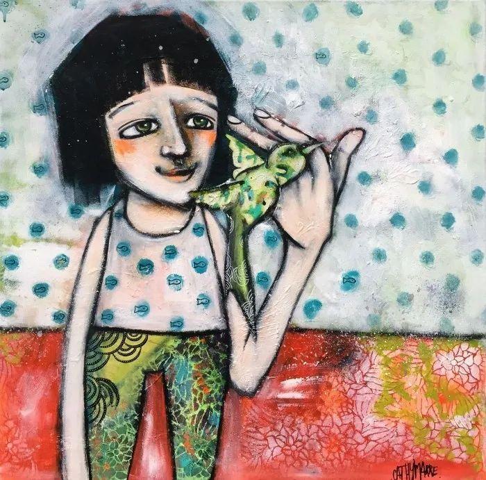 法国女艺术家Cathy Marre作品选插图35