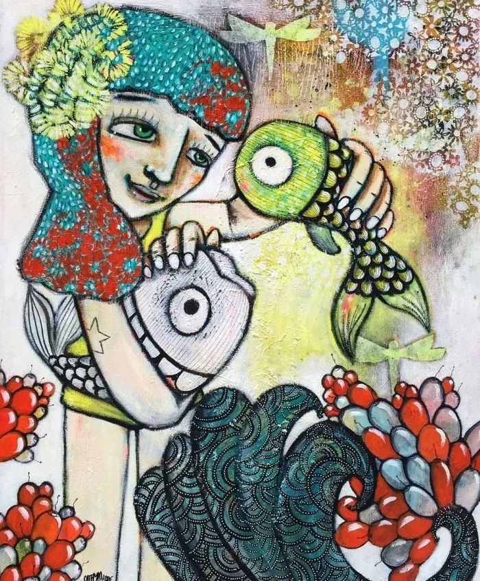 法国女艺术家Cathy Marre作品选插图37