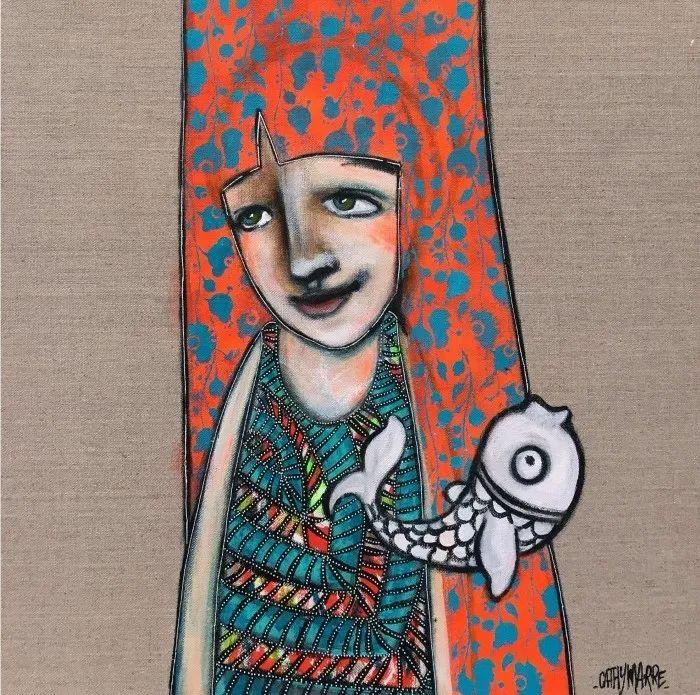 法国女艺术家Cathy Marre作品选插图39