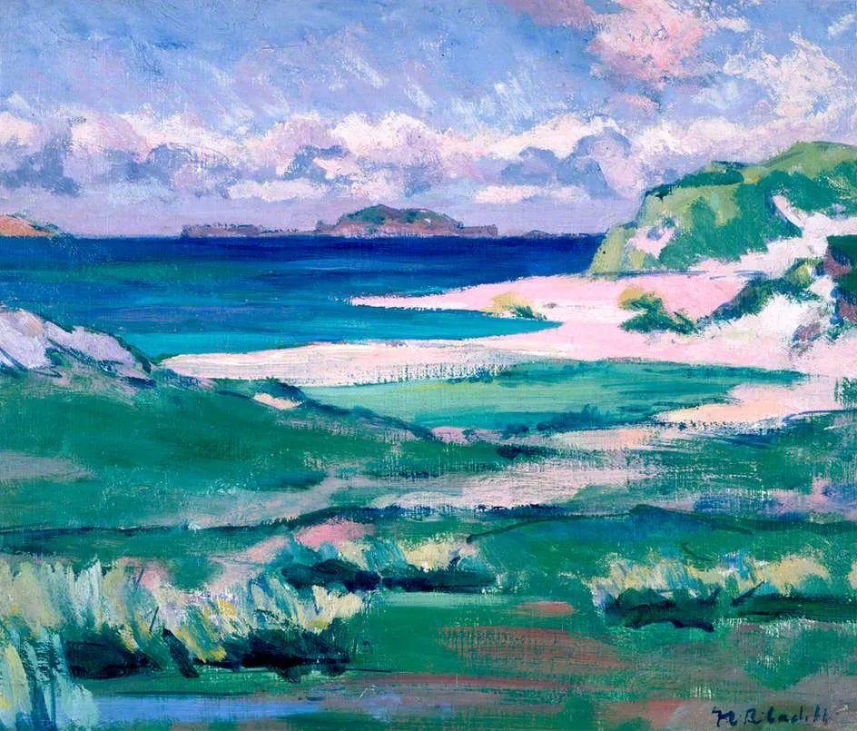 苏格兰四大色彩画家之一,英国画家弗朗西斯·卡德尔作品选插图1