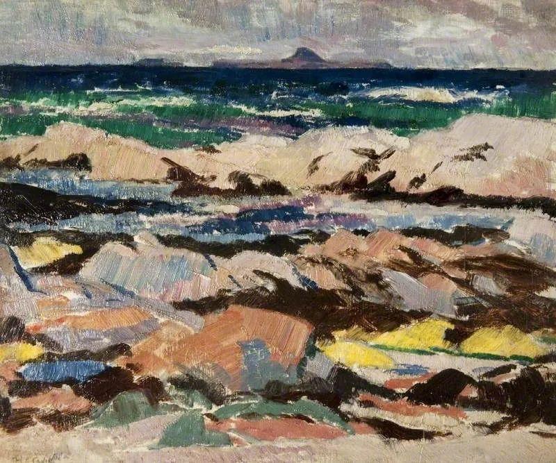 苏格兰四大色彩画家之一,英国画家弗朗西斯·卡德尔作品选插图3