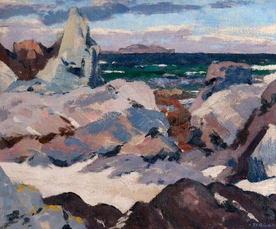 苏格兰四大色彩画家之一,英国画家弗朗西斯·卡德尔作品选插图7