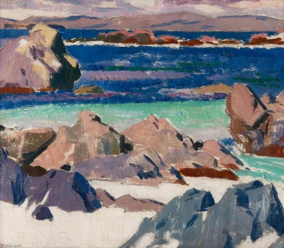 苏格兰四大色彩画家之一,英国画家弗朗西斯·卡德尔作品选插图9