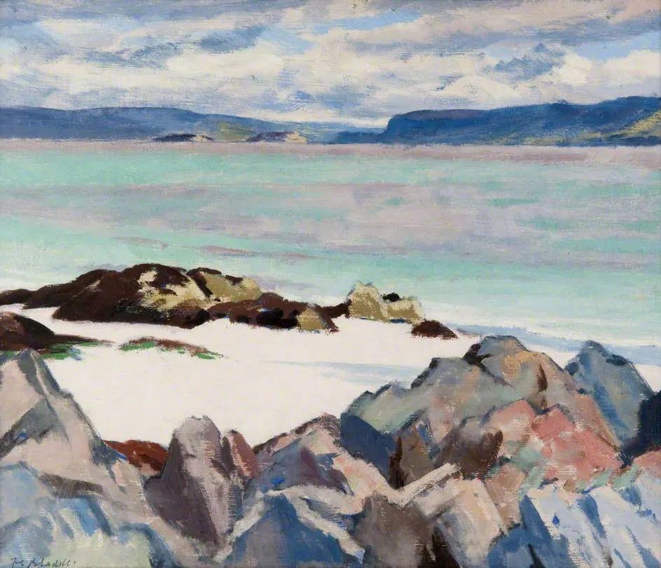 苏格兰四大色彩画家之一,英国画家弗朗西斯·卡德尔作品选插图11