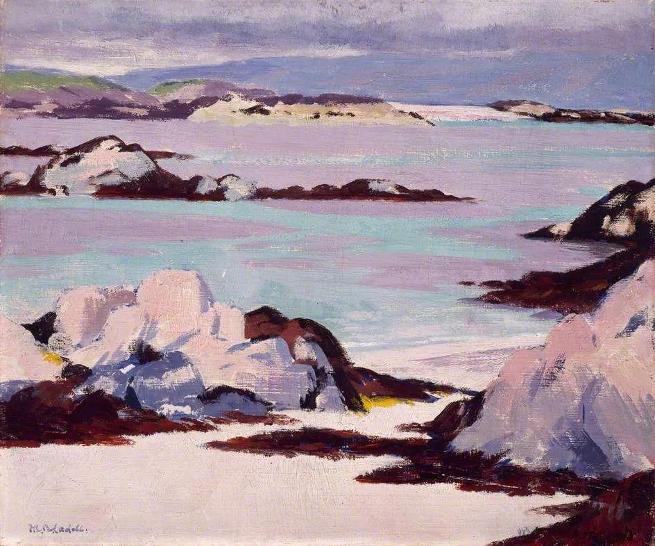 苏格兰四大色彩画家之一,英国画家弗朗西斯·卡德尔作品选插图13