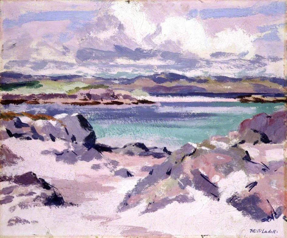 苏格兰四大色彩画家之一,英国画家弗朗西斯·卡德尔作品选插图15