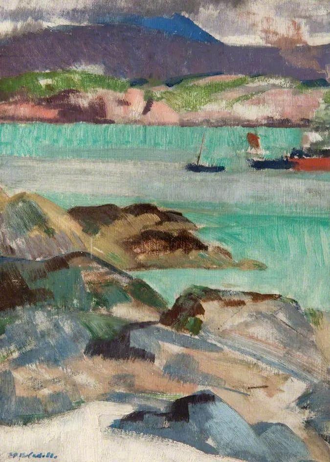 苏格兰四大色彩画家之一,英国画家弗朗西斯·卡德尔作品选插图17