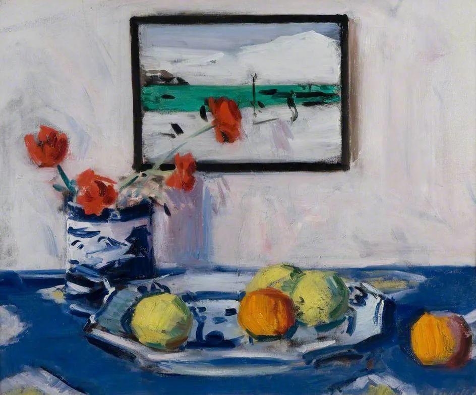 苏格兰四大色彩画家之一,英国画家弗朗西斯·卡德尔作品选插图19
