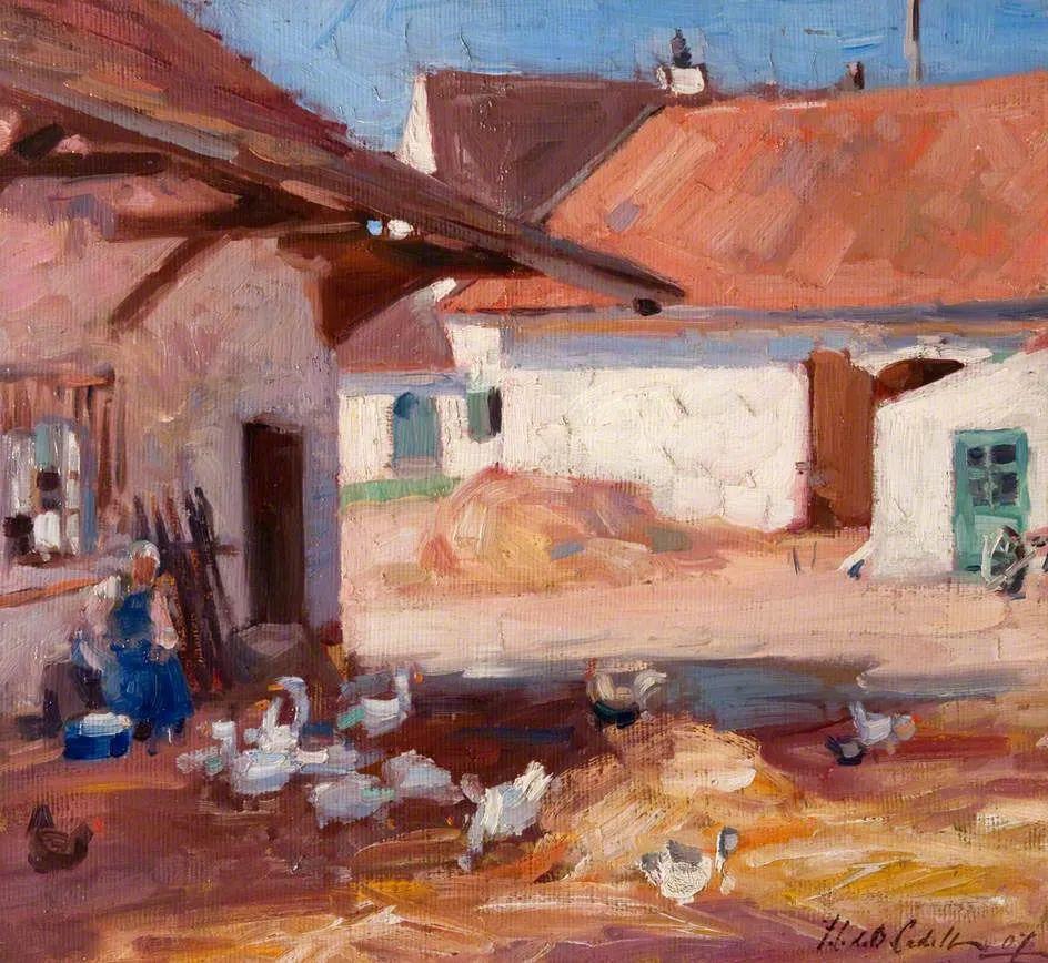 苏格兰四大色彩画家之一,英国画家弗朗西斯·卡德尔作品选插图21