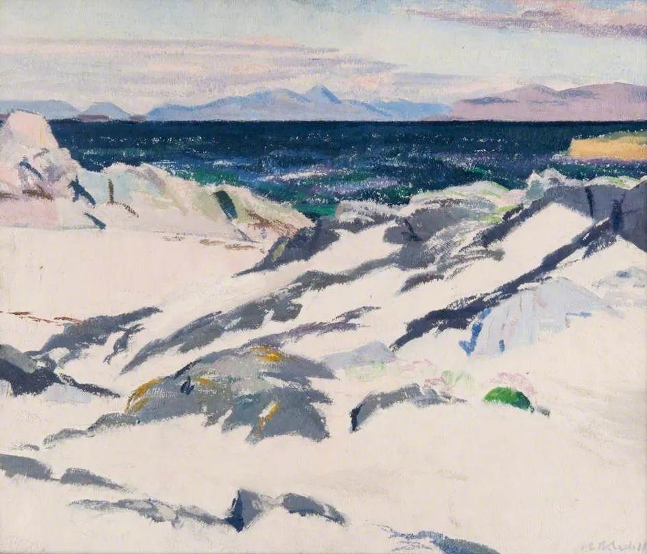 苏格兰四大色彩画家之一,英国画家弗朗西斯·卡德尔作品选插图23