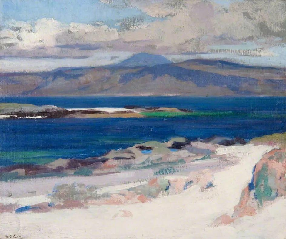 苏格兰四大色彩画家之一,英国画家弗朗西斯·卡德尔作品选插图25