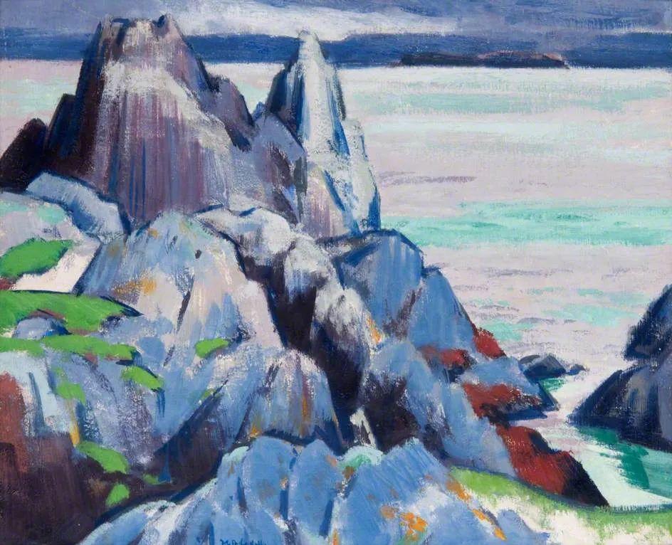 苏格兰四大色彩画家之一,英国画家弗朗西斯·卡德尔作品选插图27