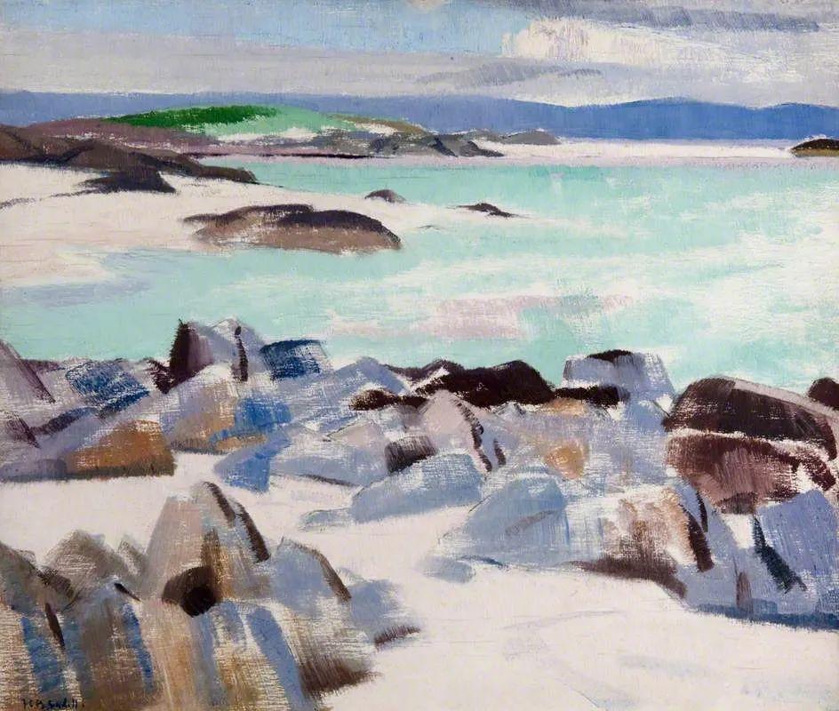 苏格兰四大色彩画家之一,英国画家弗朗西斯·卡德尔作品选插图29