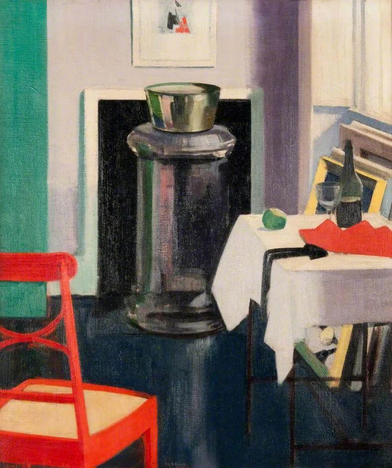 苏格兰四大色彩画家之一,英国画家弗朗西斯·卡德尔作品选插图33