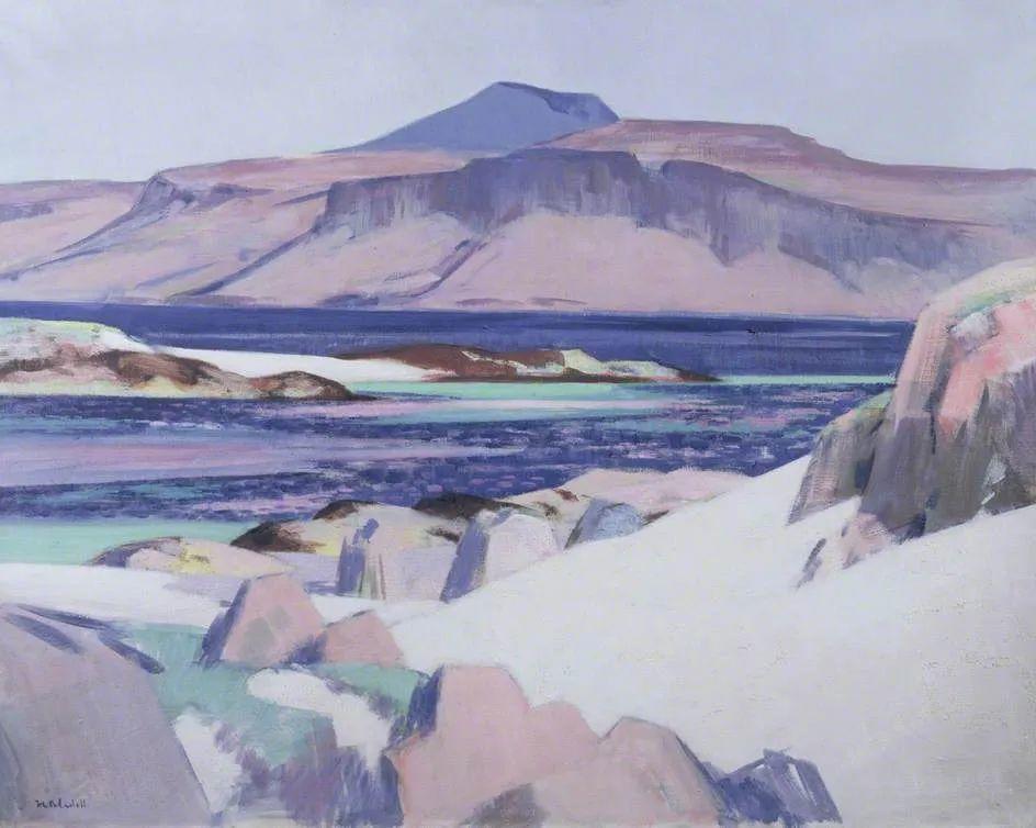 苏格兰四大色彩画家之一,英国画家弗朗西斯·卡德尔作品选插图35
