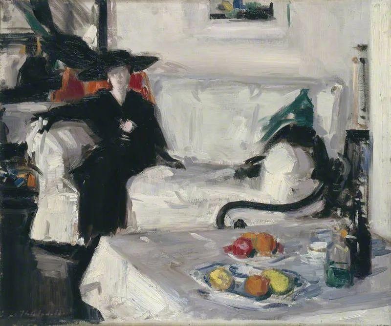 苏格兰四大色彩画家之一,英国画家弗朗西斯·卡德尔作品选插图37