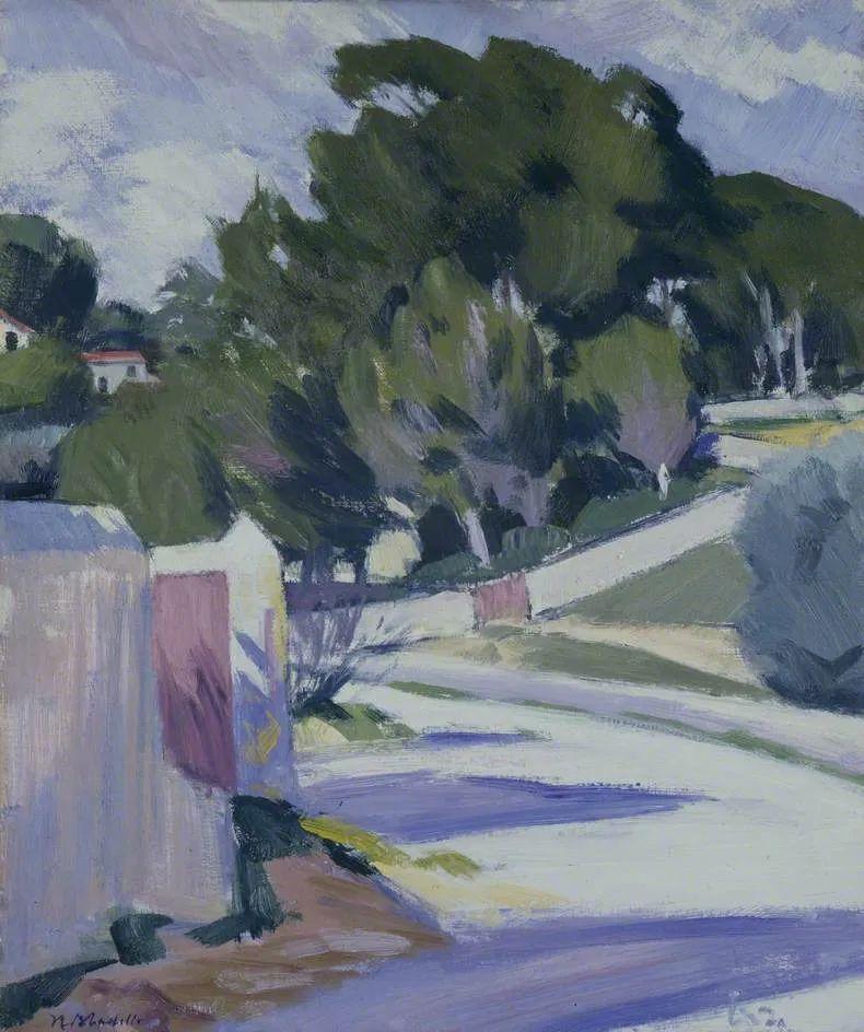 苏格兰四大色彩画家之一,英国画家弗朗西斯·卡德尔作品选插图41