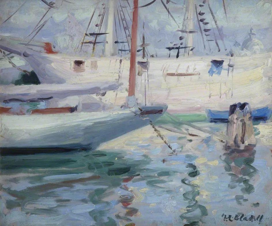 苏格兰四大色彩画家之一,英国画家弗朗西斯·卡德尔作品选插图43