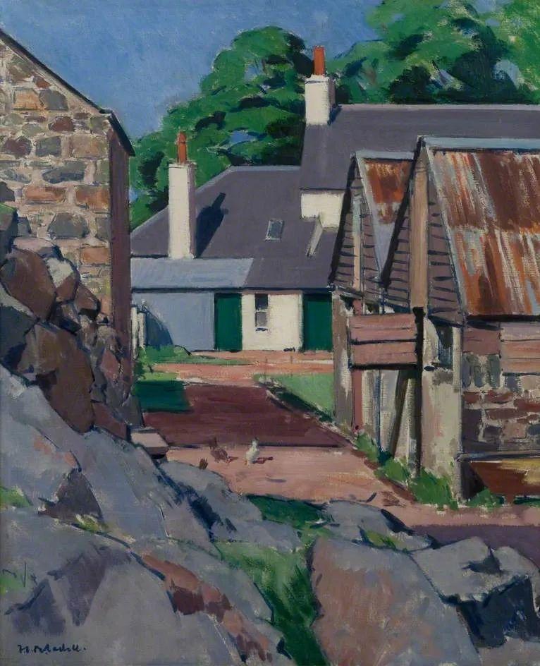 苏格兰四大色彩画家之一,英国画家弗朗西斯·卡德尔作品选插图45