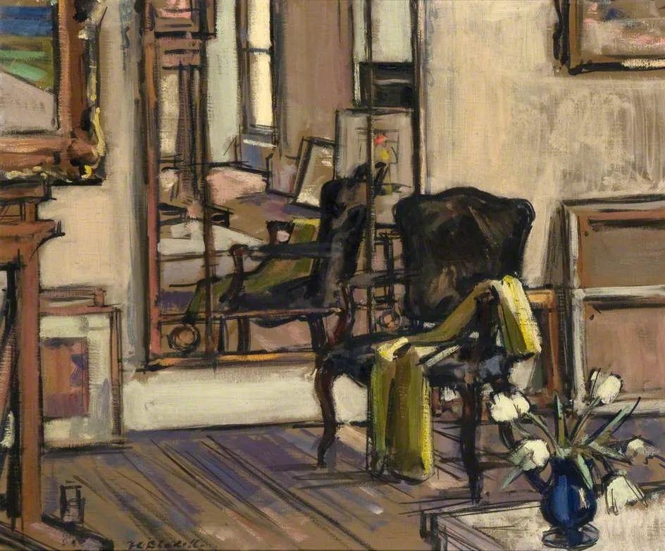 苏格兰四大色彩画家之一,英国画家弗朗西斯·卡德尔作品选插图47
