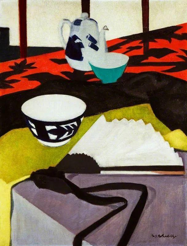 苏格兰四大色彩画家之一,英国画家弗朗西斯·卡德尔作品选插图49