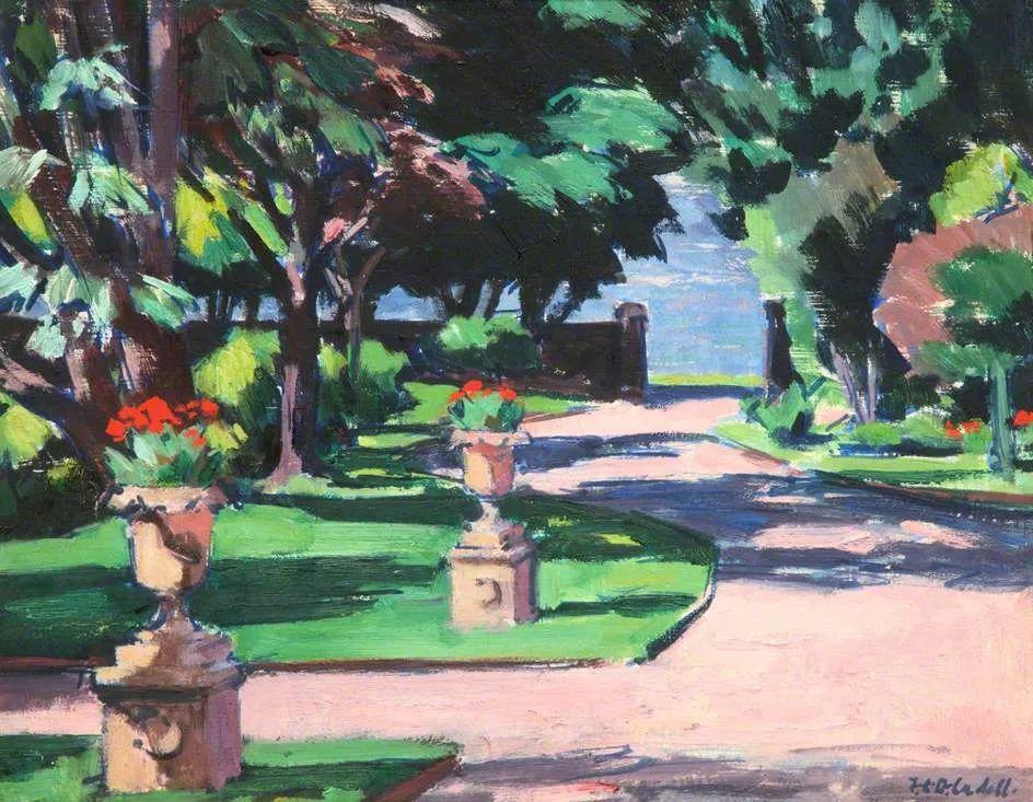 苏格兰四大色彩画家之一,英国画家弗朗西斯·卡德尔作品选插图59