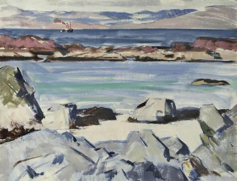 苏格兰四大色彩画家之一,英国画家弗朗西斯·卡德尔作品选插图61