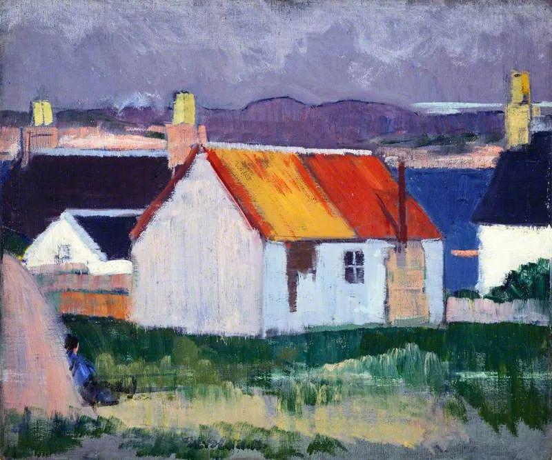 苏格兰四大色彩画家之一,英国画家弗朗西斯·卡德尔作品选插图63