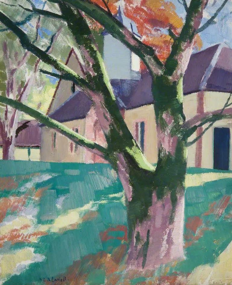 苏格兰四大色彩画家之一,英国画家弗朗西斯·卡德尔作品选插图71