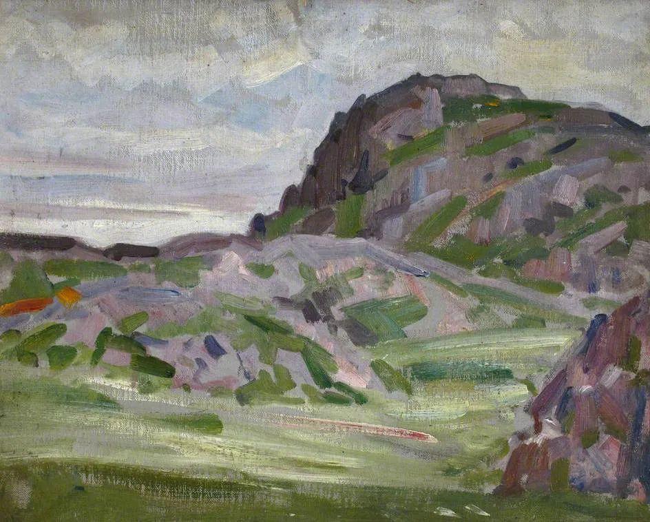 苏格兰四大色彩画家之一,英国画家弗朗西斯·卡德尔作品选插图75