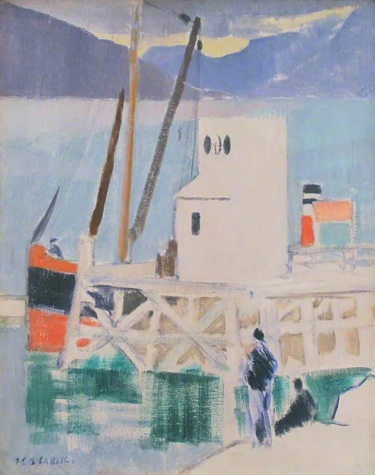 苏格兰四大色彩画家之一,英国画家弗朗西斯·卡德尔作品选插图79