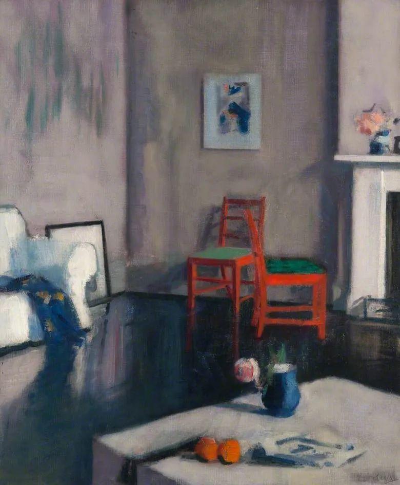 苏格兰四大色彩画家之一,英国画家弗朗西斯·卡德尔作品选插图81