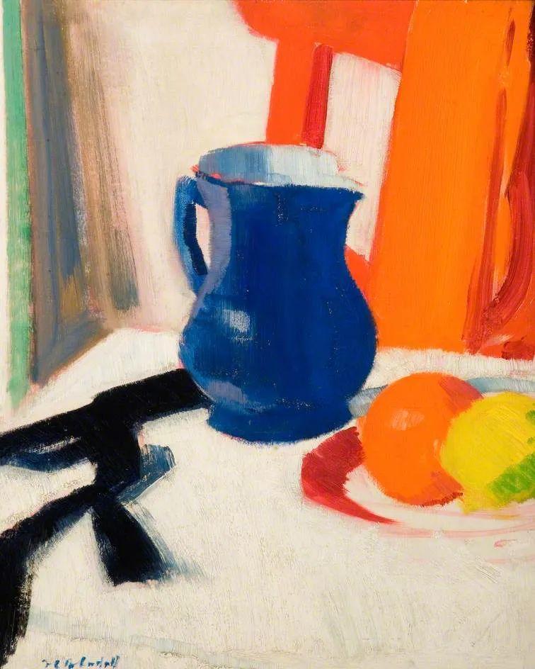 苏格兰四大色彩画家之一,英国画家弗朗西斯·卡德尔作品选插图85