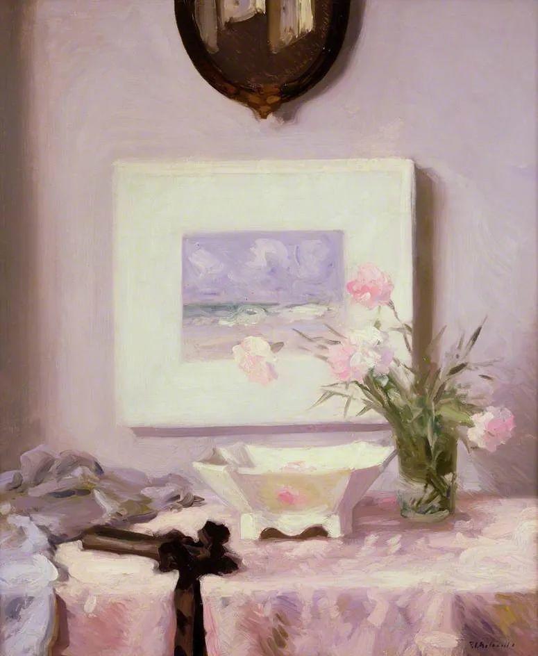 苏格兰四大色彩画家之一,英国画家弗朗西斯·卡德尔作品选插图91