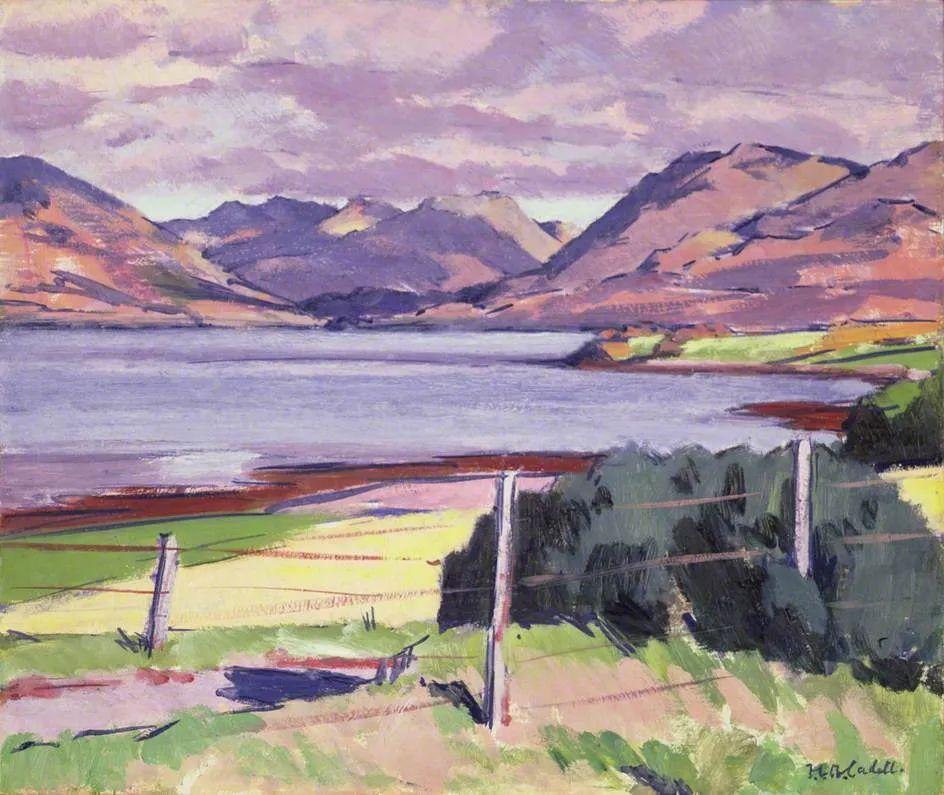 苏格兰四大色彩画家之一,英国画家弗朗西斯·卡德尔作品选插图93