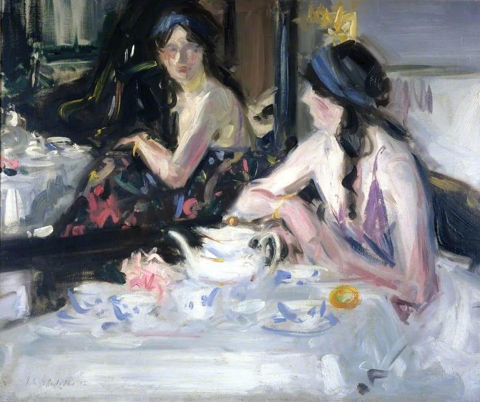 苏格兰四大色彩画家之一,英国画家弗朗西斯·卡德尔作品选插图95