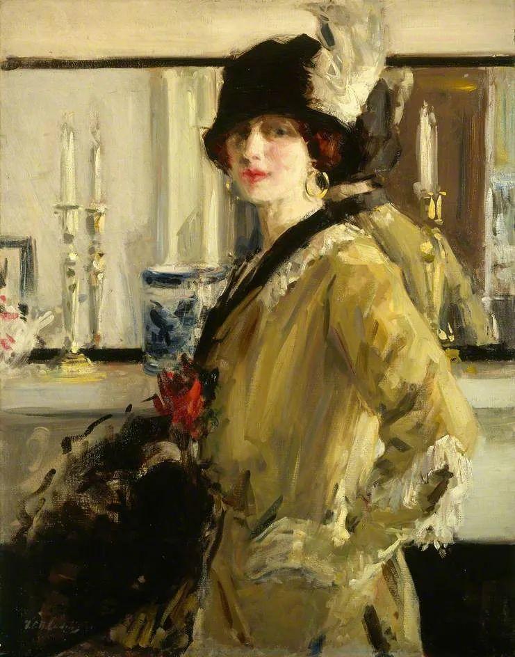 苏格兰四大色彩画家之一,英国画家弗朗西斯·卡德尔作品选插图99