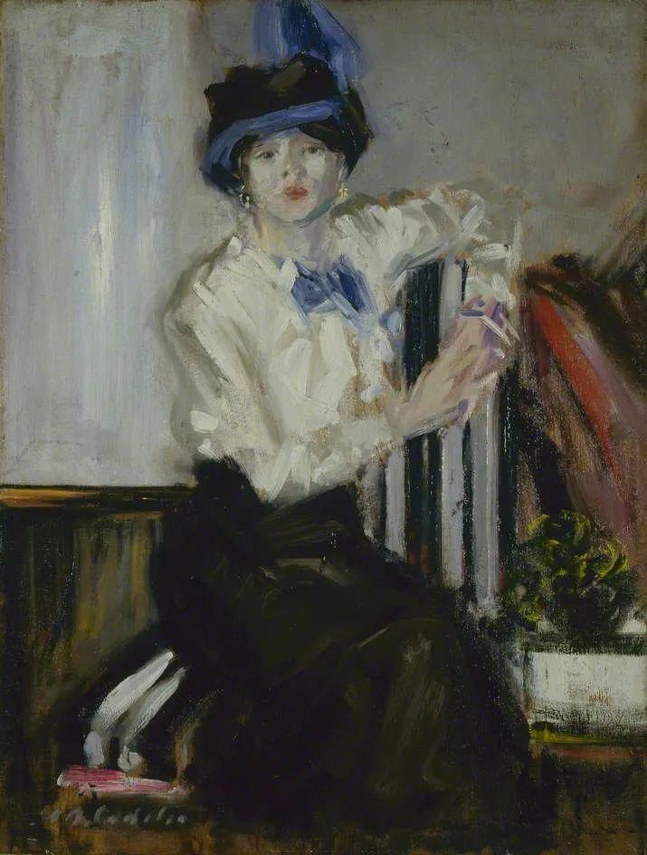 苏格兰四大色彩画家之一,英国画家弗朗西斯·卡德尔作品选插图101