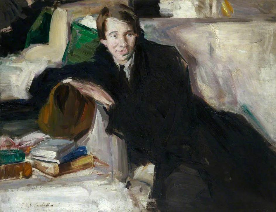 苏格兰四大色彩画家之一,英国画家弗朗西斯·卡德尔作品选插图103