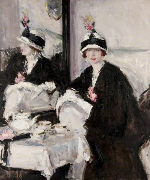 苏格兰四大色彩画家之一,英国画家弗朗西斯·卡德尔作品选插图109
