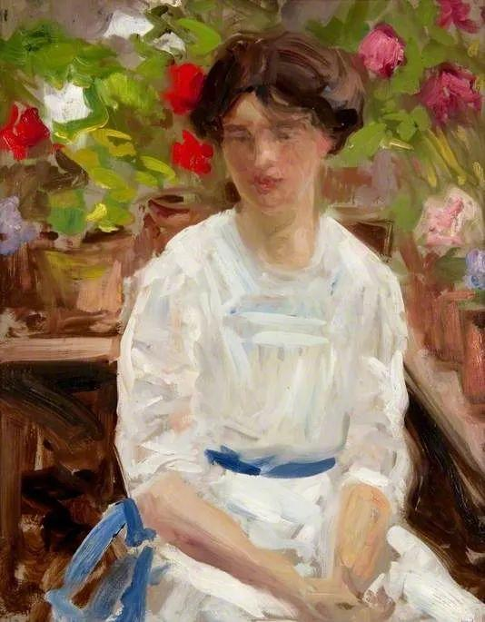 苏格兰四大色彩画家之一,英国画家弗朗西斯·卡德尔作品选插图111