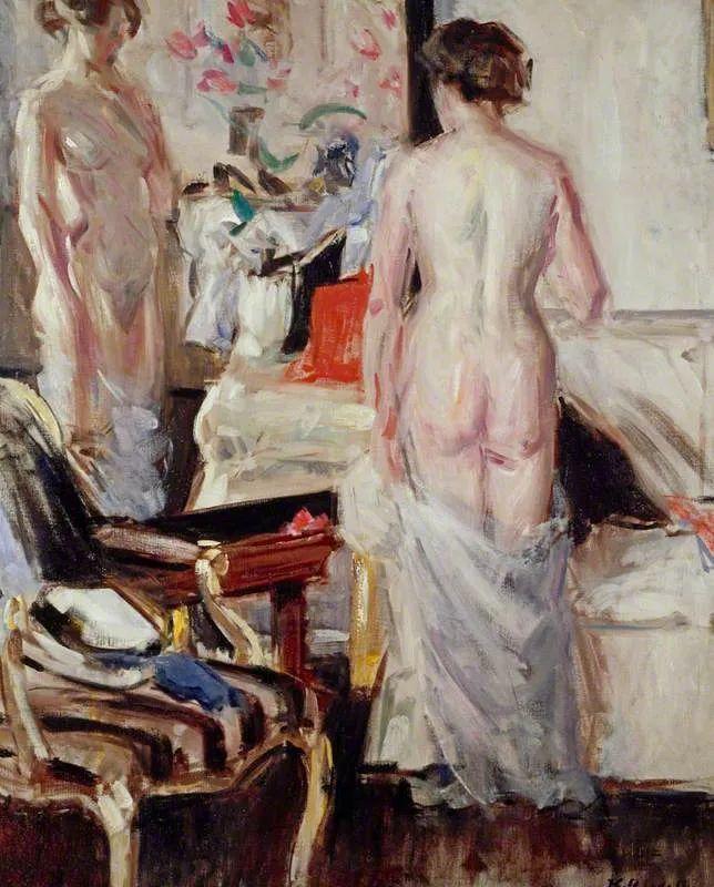苏格兰四大色彩画家之一,英国画家弗朗西斯·卡德尔作品选插图117