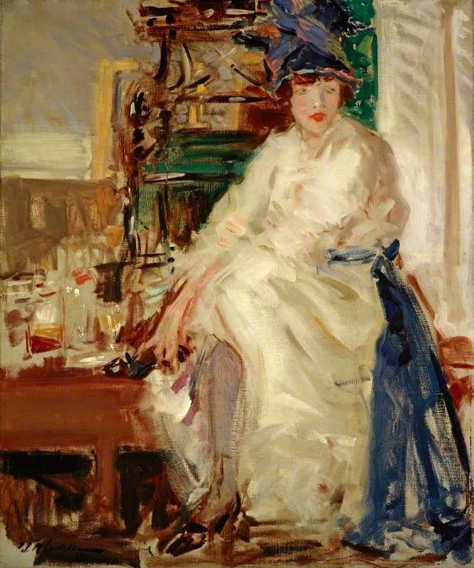 苏格兰四大色彩画家之一,英国画家弗朗西斯·卡德尔作品选插图119