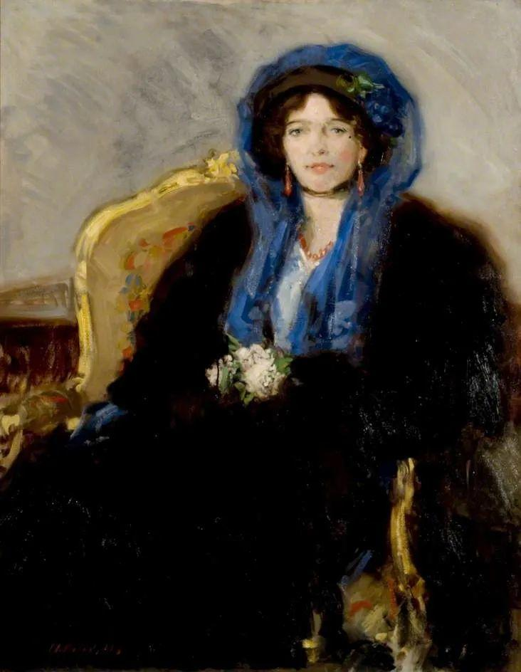 苏格兰四大色彩画家之一,英国画家弗朗西斯·卡德尔作品选插图127