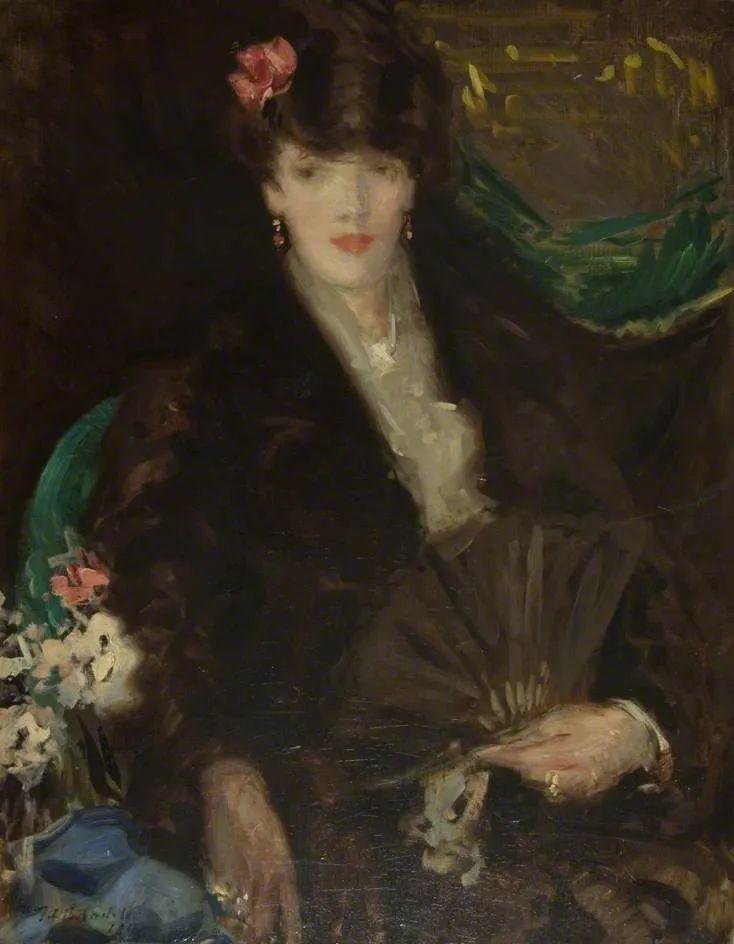 苏格兰四大色彩画家之一,英国画家弗朗西斯·卡德尔作品选插图129