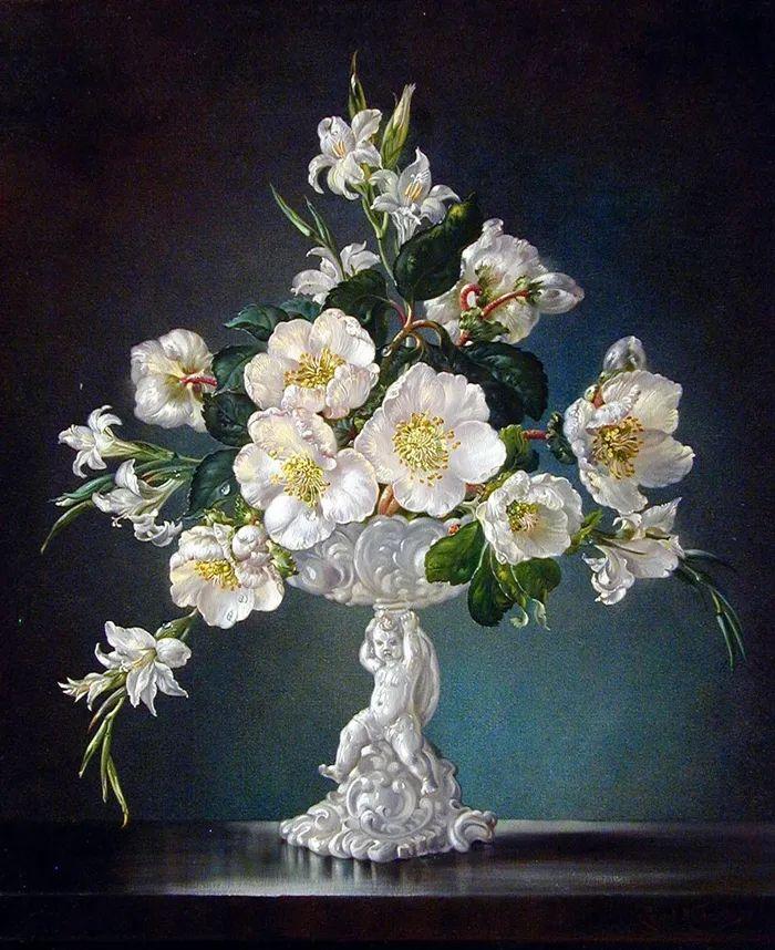 英国最伟大的花卉画家之一,艺术家塞西尔·肯尼迪插图5